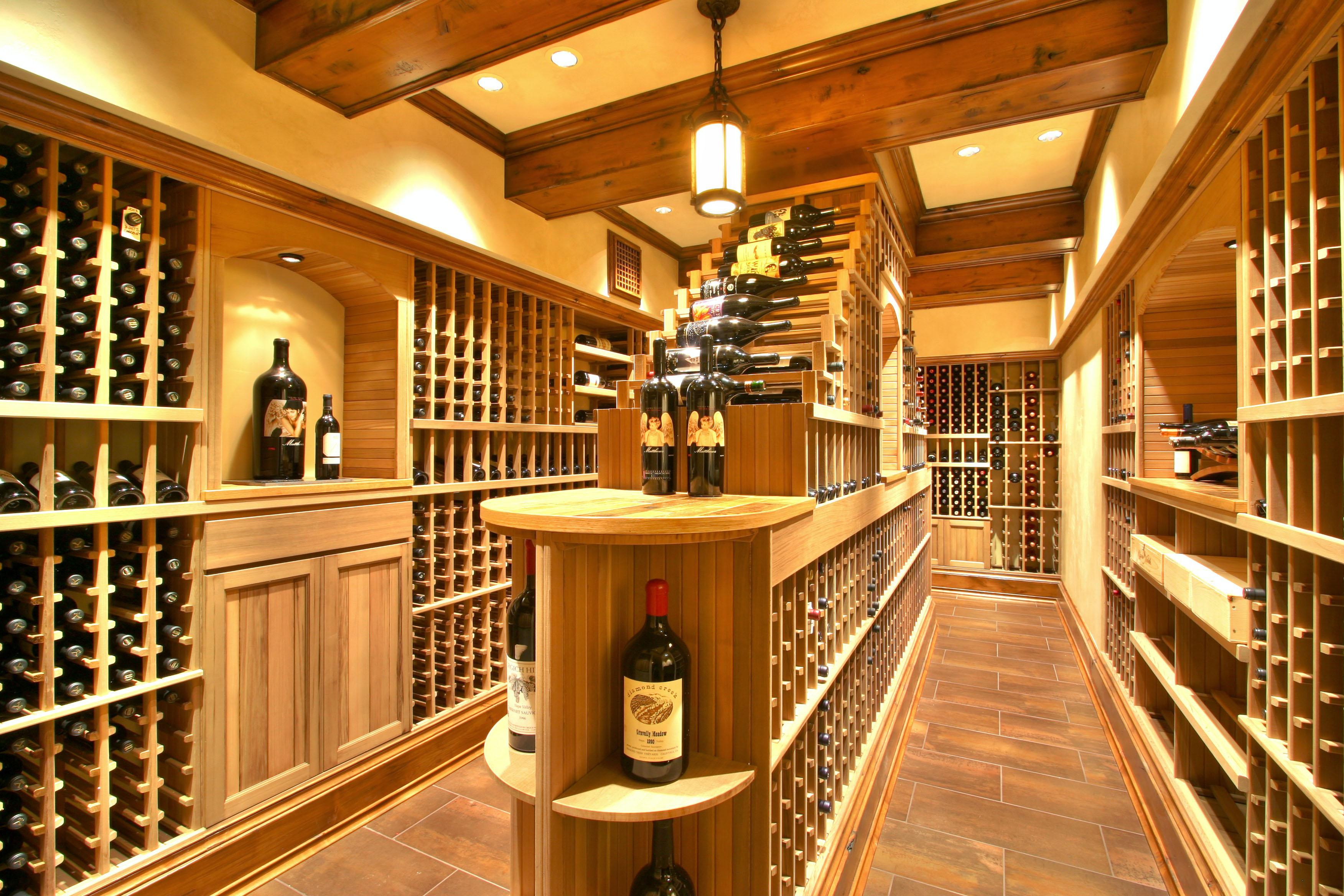 custom wine cellar luxe wine cellars. Black Bedroom Furniture Sets. Home Design Ideas